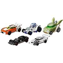 Hot Wheels - Set de 5 coches Star Wars (CGX36)