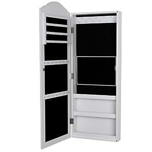 songmics armadio armadietto portagioie gioielli da parete. Black Bedroom Furniture Sets. Home Design Ideas