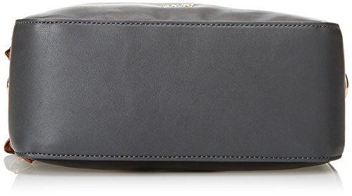 Gaudì Crossbody-Linea Angelica, Borsa a Mano Donna, 24x15x9 cm (W x H x L) Nero (Black)