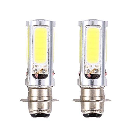 TUINCYN P15D H6M LED Ampoule Phare de moto Ampoule antibrouillard 2835 21SMD Feu de circulation diurne DRL avec lentille en aluminium 10.5W CC 12V Blanc x/énon Paquet de 2