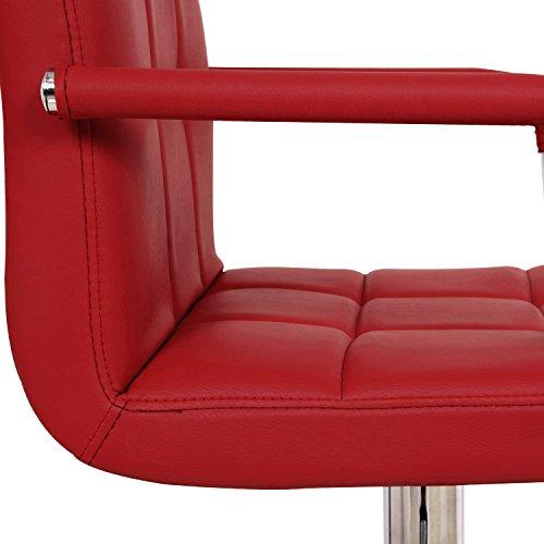 WOLTU BH16 Serie Design Barhocker mit Armlehne 2er Set - 5