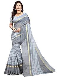 Navya Fashion Women's Poly Cotton Sarees (nav400_Multi-Coloured_Free Size)