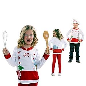 My Other Me Me Me- Cocineros Yiija Camiseta Multicolor, 2-4años Viving Costumes_231063