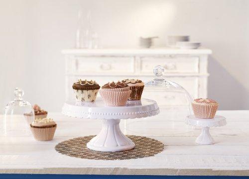 confronta il prezzo Birkmann RBV 441415 Vintage – Piatto da portata per torta, con alzata, misura M
