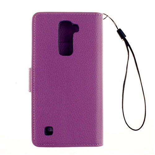KSHOP Case Cover per iphone 6 /iphone 6s 4.7 Custodia arancione chiusura magnetica cellulare di protezione del raccoglitore di cuoio Chiusura Magnetica portafoglio della copertura di caso ciotola a l LE 06