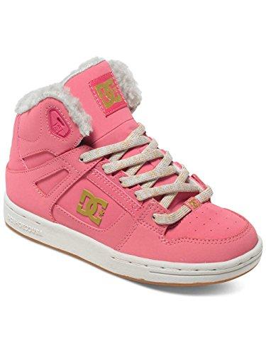 DC Shoes  REBOUND WNT B SHOE NGH, Baskets hautes garçon Rose - rose shadow