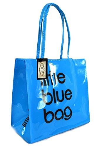 84cff06fb9b71 GFM cerata in PVC o piccolo o Medio riutilizzabile borsa pranzo picnic bag