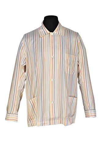 brioni-pajama-men-cream-silk-striped
