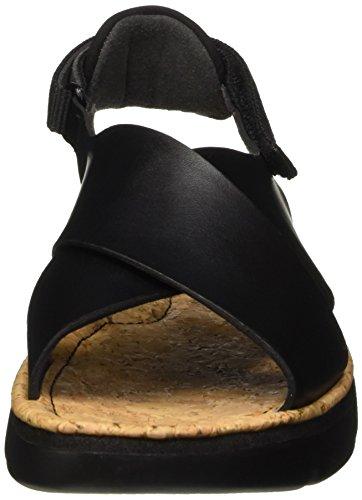 Camper Oruga - Sandali donna Nero (Black 002)