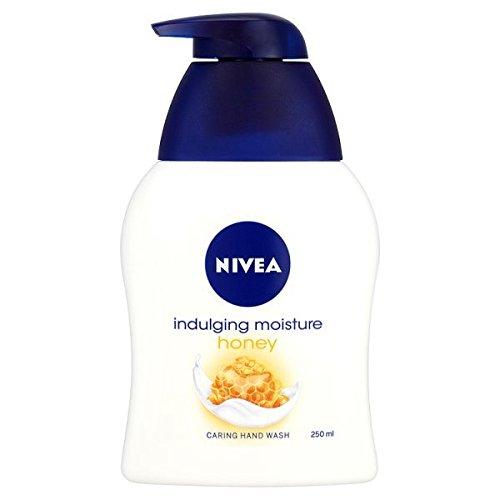 NIVEA 250 ml Honig und Milch Creme Handseife - 3er Pack