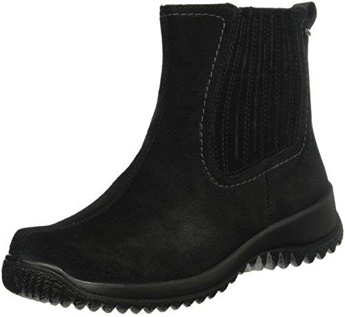 Legero Softboot Halb - Stivaletti corti imbottiti donna, colore nero, taglia 39 EU (6 UK)