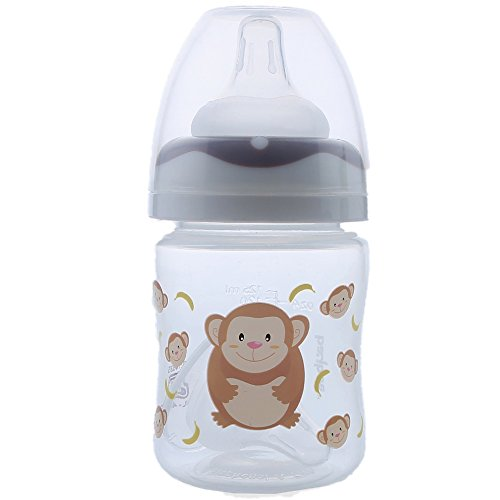 Baybee Premium 125ml Baby Feeding Bottle (Brown)