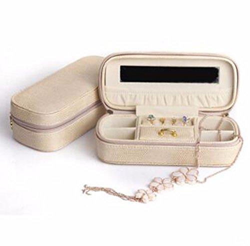 QPSSP Tragbare Schmuckkästchen, Reisen Koreanischen Ausgabe Schmuck - Tasche, Prinzessin Kleinen Ring, Ohrring Schmuckschatulle Schmuck - Koreanischen Tasche