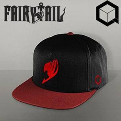 PCM Fairy Tail Snap Back Cap Natsu Berretti Cappelli