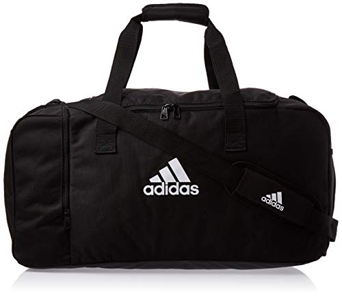 adidas Tiro Du M Duffelbag, Black/White, One Size