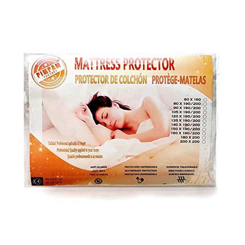 Protector Colchón Impermeable Algodón 135x190/200