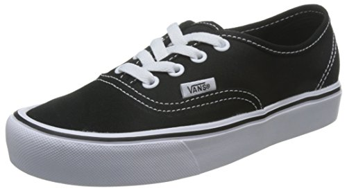 Vans Ua Authentic Lite, Baskets Basses Homme Noir