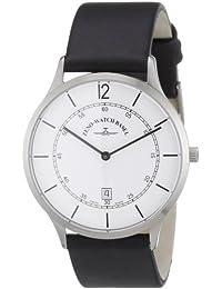 Zeno Watch Basel 6563Q-i2 - Reloj analógico de cuarzo para hombre con correa de piel, color negro
