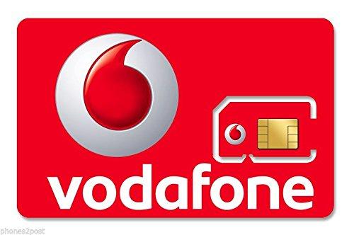 SIM card di Vodafone, senza abbonamento, multifunzione, sim nano e micro per tutti i telefoni, carta SIM di Vodafone [con...