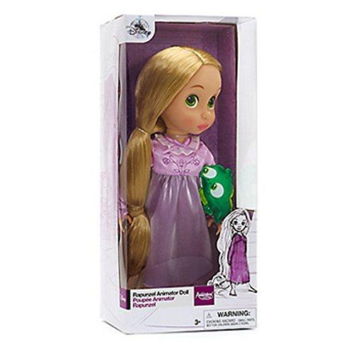 Offizielle Disney Rapunzel Rapunzel 38cm Animator Kleinkind-Puppe mit Zubehör-Pascal