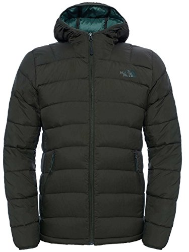 North Face M La Paz Hooded Eu Giacca Verde/Rosin Green