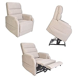 Pride C1 Dual Motor Petite electric riser recliner lift chair mobility aid - Small Size