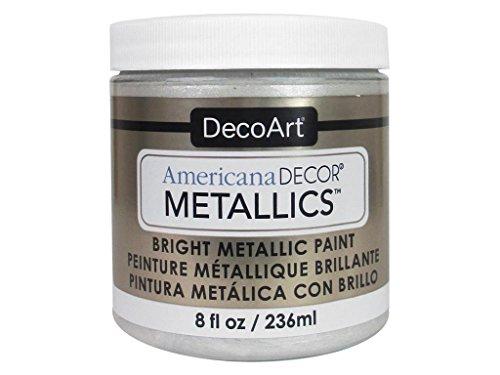 Deco Art Americana Décor Metallic Jar der Farbe, Acryl, Perle, 7x 7x 8cm - Acryl-emulsion