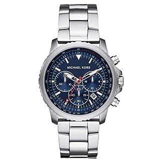 Michael Kors Reloj Cronógrafo para Hombre de Cuarzo con Correa en Acero Inoxidable MK8641