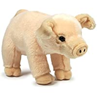 Anna Club de Peluche ACP16847 - Cerdo de Peluche DE 23 cm, diseño de Animales