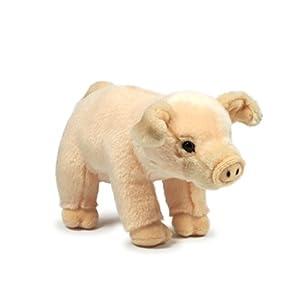 Anna Club de Peluche ACP16847 - Cerdo de Peluche de 23 cm, diseño de Animales de Peluche