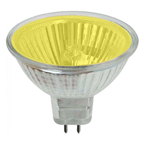 Farbige Mr16 Leuchtmittel (Pro-Lite MR16Halogenstrahler / Leuchtmittel, 20W, farbig, GU5.3, G5.3, Niederspannung, Gelb)
