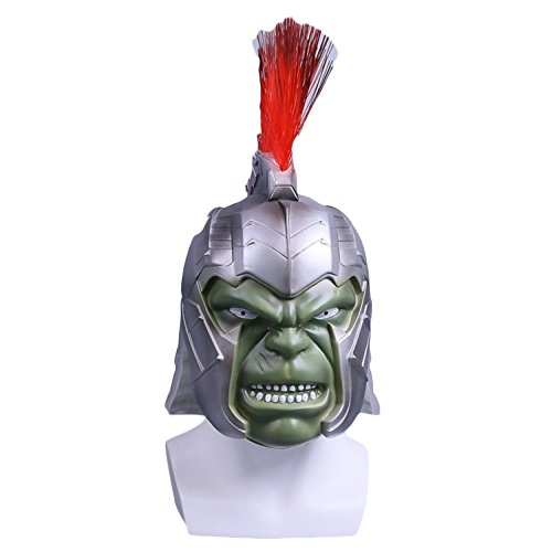 QQWE Hulk Mask Helmet Marvel Hero Cosplay Helmet Mask Fiesta De Halloween Theme Movie Props Máscara De PVC Cosplay,A-Big