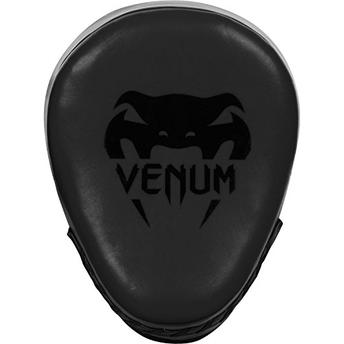 'Venum Cellular 2.0 Punch Mitts Focus Pads' Matte Black - Boxing Mitts Kick Boxing MMA Muay Thai Pads