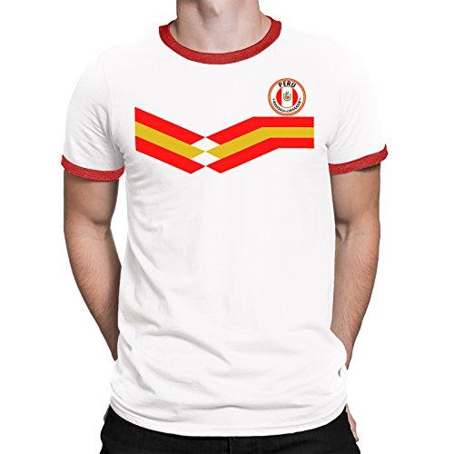 Tee Spirit Peru Camiseta Para Hombre World Cup 2018