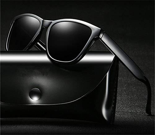 AOCCK Sonnenbrillen,Brillen, Retro Sunglasses Polarized Men Driving Sun Glasses Mirror Coating Lenses Shades For Women NO BOX NO.5 Brown