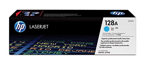 HP 128A (CE321A) Cyan Original Toner für HP Laserjet Pro CP1525, HP Laserjet Pro M1415