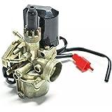 Carburateur Peugeot Trekker pour 50 cc de Tous a NC 14194 etat Neuf Carbu type origine diamètre 16mm avec starter automatique pour moteur 2 temps. Le carburateur est prévu pour un graissage séparé. Livré conforme à la photo.