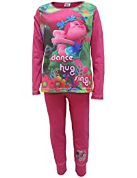 Girls Official Trolls Pyjama Set Ages 4 to 10 Years Old