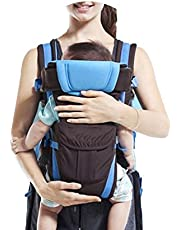 Ben carter Baby Carrier Shoulder Belt Sling Backpack Baby Holding Strap Adjustable Carry Bag Baby Carrier (Firozi)