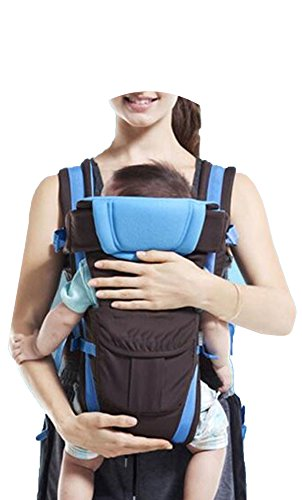 Ben Carter Premium Baby Sling Backpack Carrier with Extra Waist Belt (RoyalBlue)