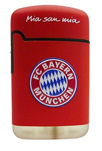 Bayern München Feuerzeug, Plastik, rot, 6.8 x 4 x 2 cm