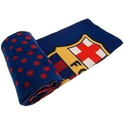 FC Barcelona Manta de forro polar con diseño