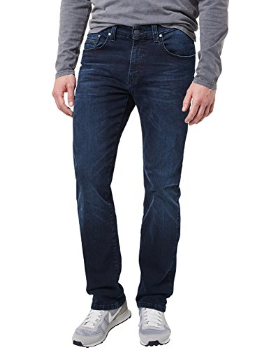 Pioneer Herren Rando MEGAFLEX Straight Jeans, Blau (Dark Used with Buffies 440), W42/L34 -