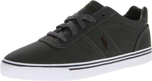 Polo Ralph Lauren Hanford Fashion Sneaker Deep Gray/Deep Loden Canvas