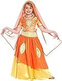 Generique - Disfraz de Princesa India Bollywood para niña 5-7 años (128 cm)