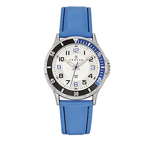 Certus Junior Unisex Child Analogue Quartz Watch with PU Strap 647523