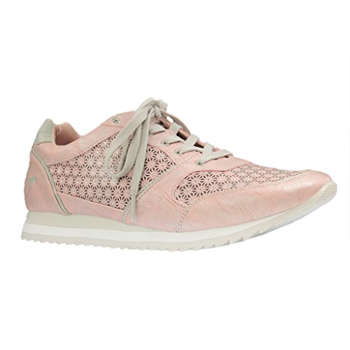 Mustang 1237-301 Baskets mode femme Rosa (Rose 555)