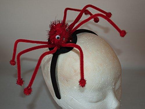 Rotschild-Wellness GmbH Haarreifen mit Spinne 8 Sehr Große Beine Karneval Fasching Halloween biegsame Beine