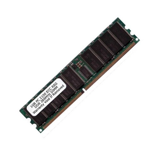 Komputerbay 1 GB PC2100 DDR 266 CL2 ECC Registered 184 Pin - Made für Server nicht Desktops - 266-mhz-desktop