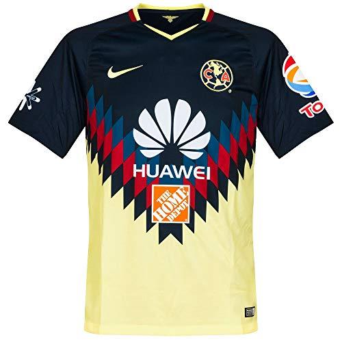 save off 59537 5b98e Nike 2017-2018 Club America Home Football Shirt